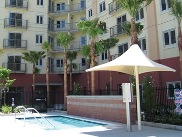 Commercial Pool Umbrella - Worldmark Anaheim