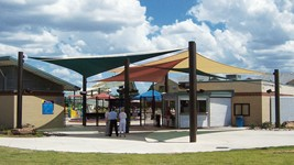Aquatic Center Shade - Cimarron Family Aquatic Center
