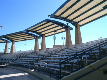 Shade for Tennis Stadium - Darling Tennis Center