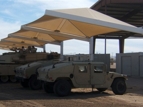 Fort Irwin Tank Compound