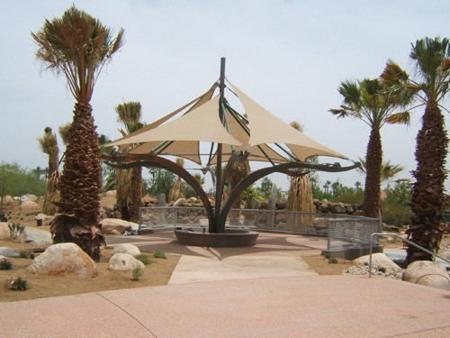 Eric Johnson Memorial Gardens at Palm Springs Art Museum