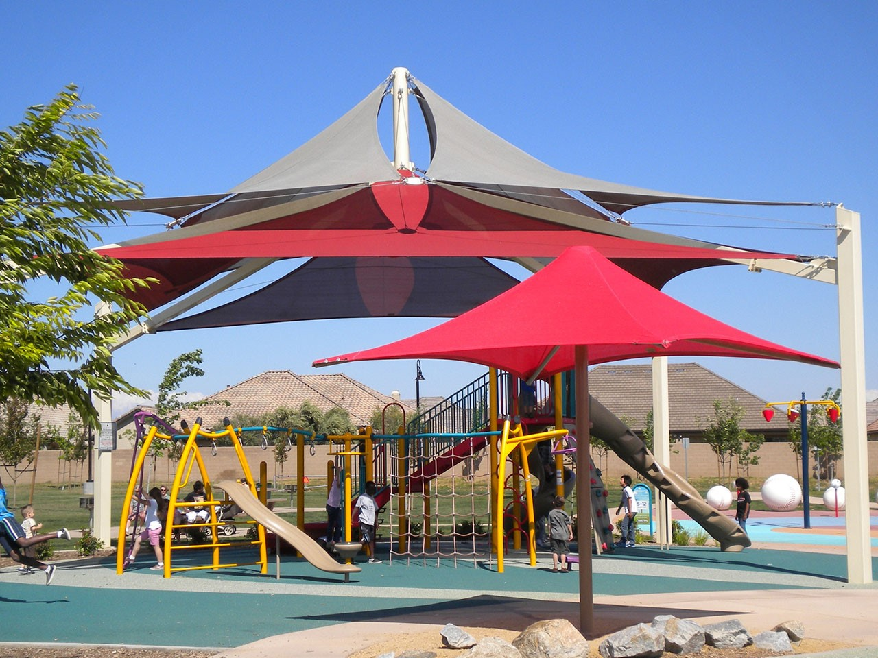 Cool Shade Structures for Parks - Figarden Loop Park