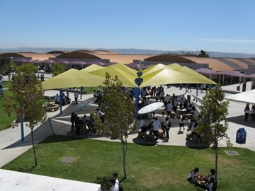 San Ysidro High School Custom Shade