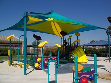 Shade Structures for Playground - Lundigan Park