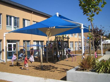 Peninsula Jewish Community Center Outdoor Area