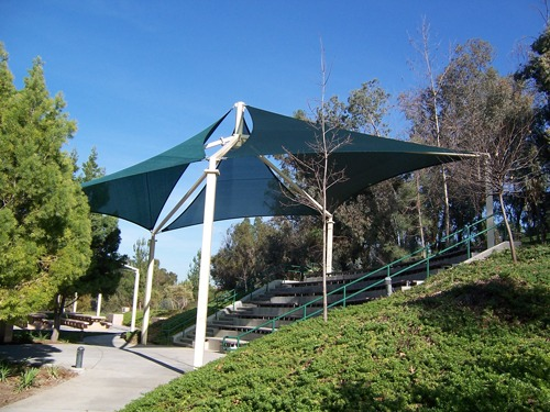 Schabarum Regional Park Shaded Area