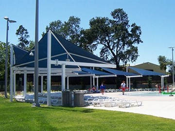 Water Park Custom Shade - Gauche Aquatic Park