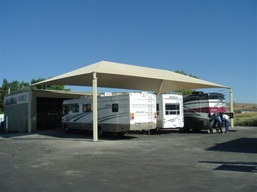 Shade Structures for RV Parking - Trailers Plus Reno