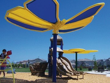 Unique Shade for Playgrounds - Peregrine Park