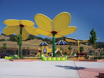 Custom Playground Shade - Promontory Community Park