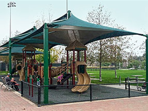 Shade Over Playground - Brea Sports Park