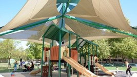 Large Shade Structures for Parks - Warner Ranch Park