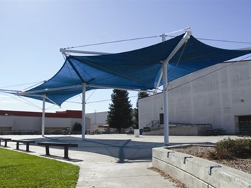 Shade for School Courtyard - Foothill High School