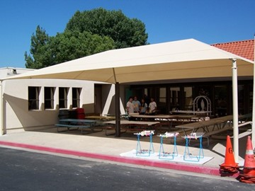 Shade for Bus Area - St. Jude the Apostle School