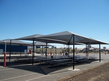 Shade Structures for Schools - George Kelly Elementary School