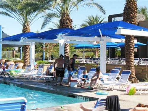 Commercial Pool Shade - Marriott's Shadow Ridge I