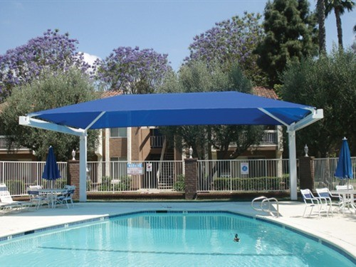 Apartment Complex Pool Shade - La Veta Grand Apartments