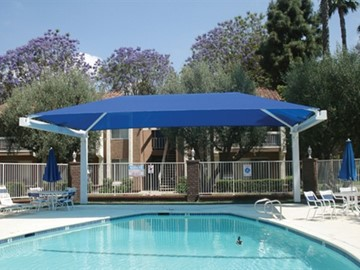 Shade Structures for Pool Areas | Commercial Pool Shade