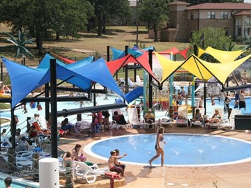 Waterpark Custom Shade - Boys Ranch Activity Center