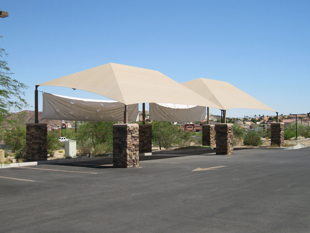 Car Wash Shade Structures - Lakeside Car Wash
