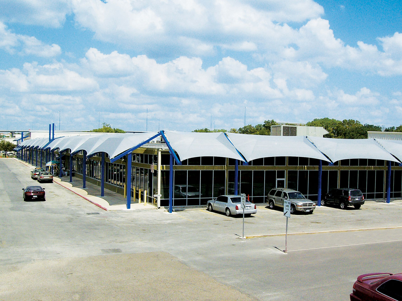 Shade Canopies for Businesses - Travis County Tax Office