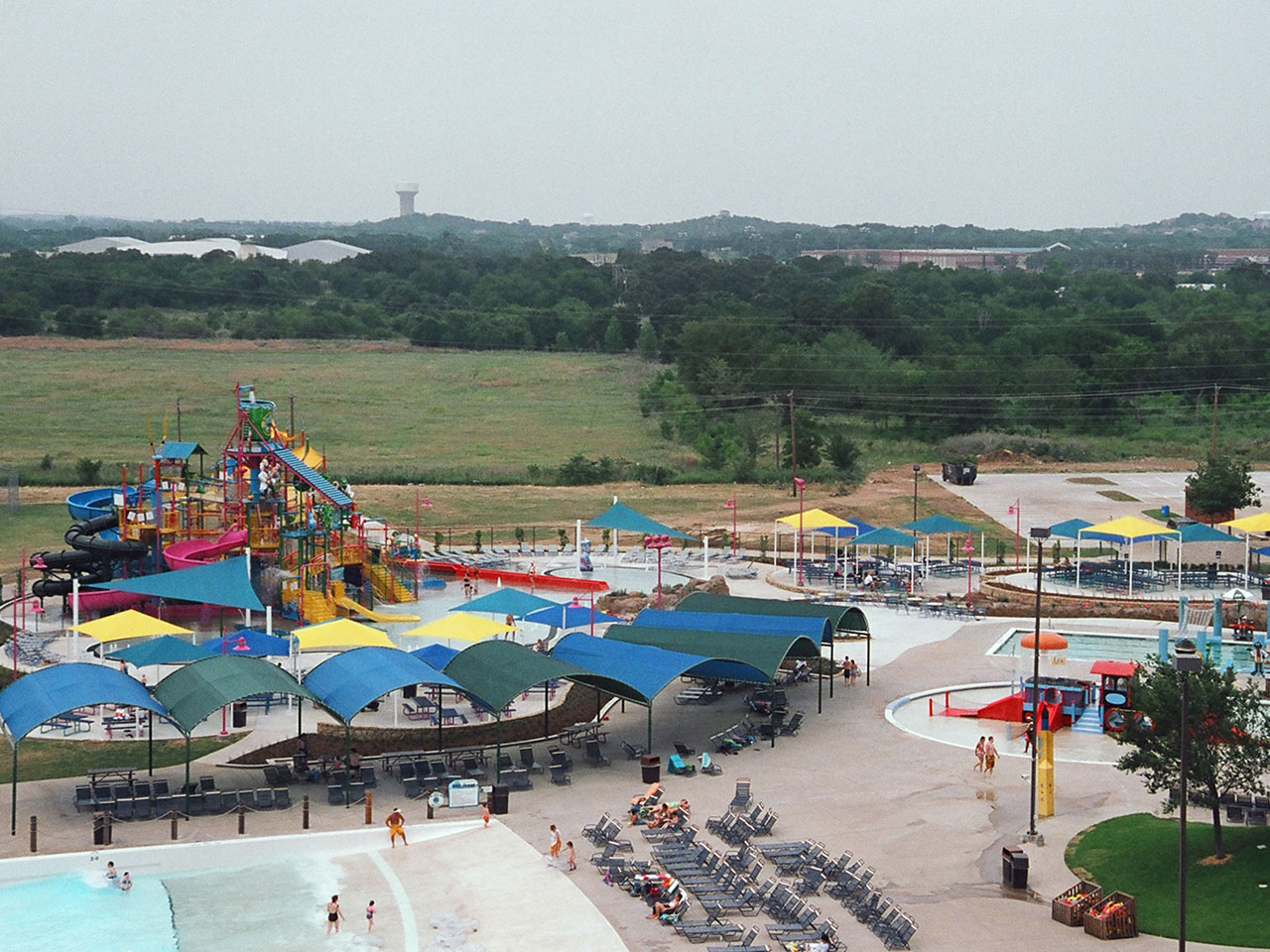 Water Park Shade Structures - NRH2O Family Water Park