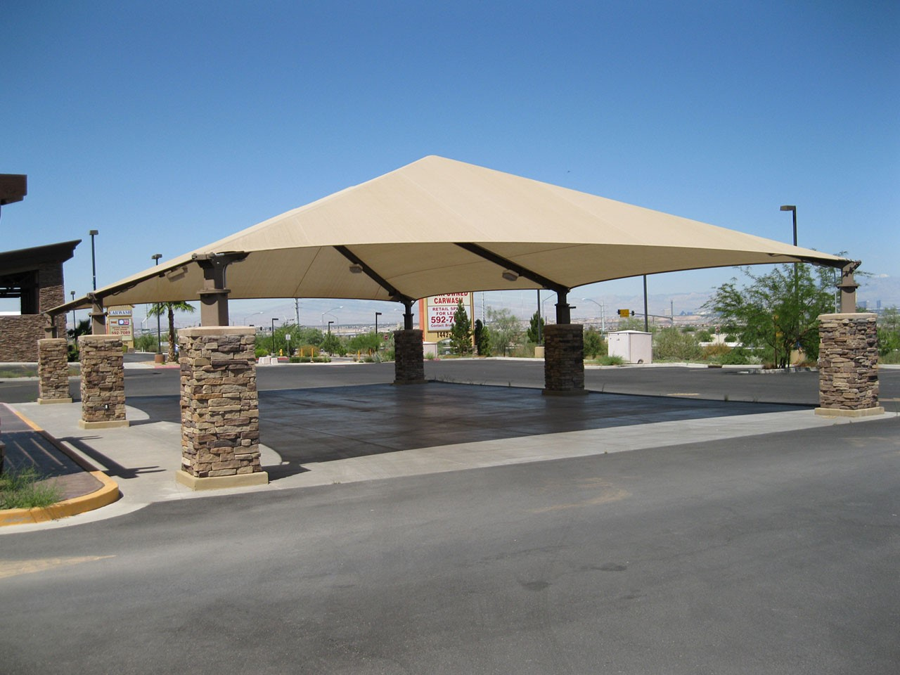 Shade for Car Wash - Lakeside Car Wash