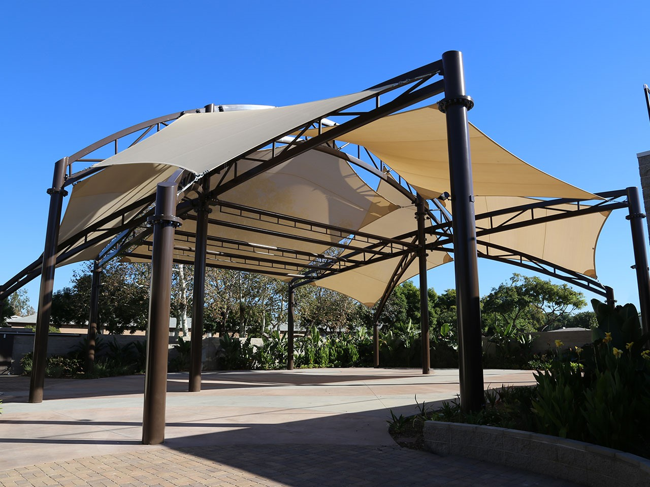 The Plaza At Ehlers Event Center Shade Structure
