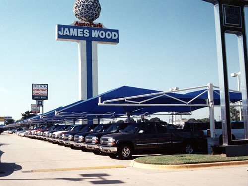 James Wood Chevrolet >> Projects James Wood Auto Park Usa Shade