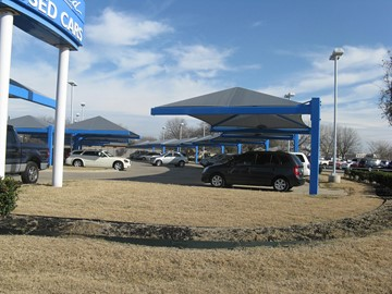 Shade Canopies Car Dealerships - Huggins Honda