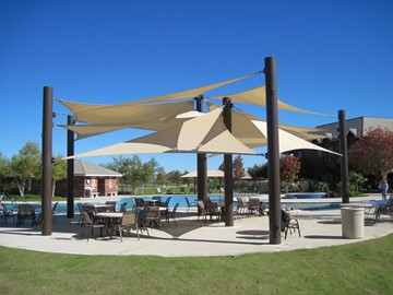 frisco_lakes_HOA_three_point_sail_shade_structure