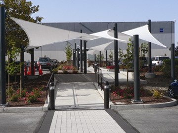 Shade Structure for Business