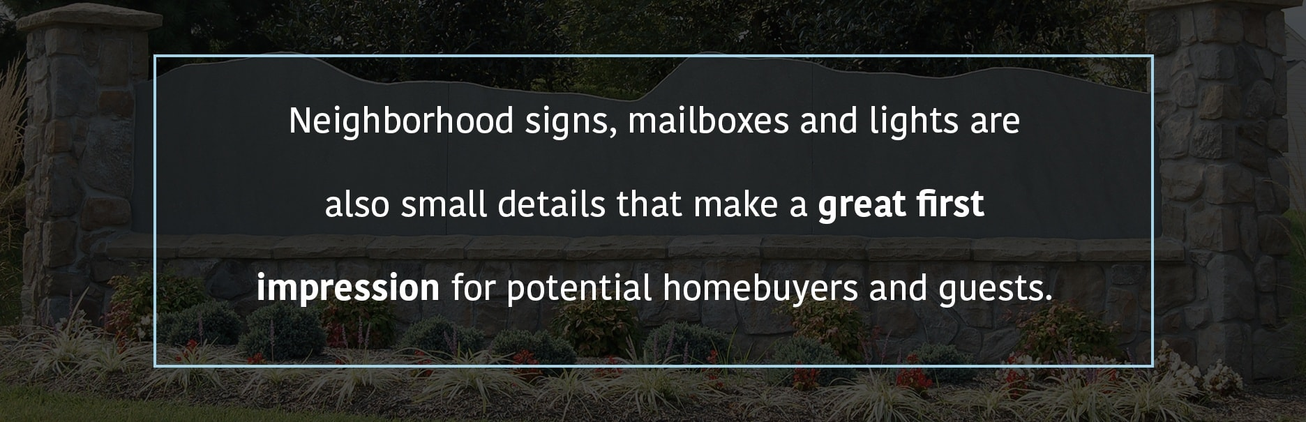 Making a Good HOA Impression