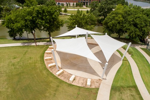 Baylor Tailgating Terrace Shade