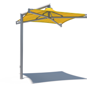 Single Post Shade Structure - Solana
