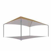 Hip Style Shade Structure