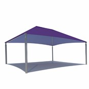 Large Hipped Shade Structure